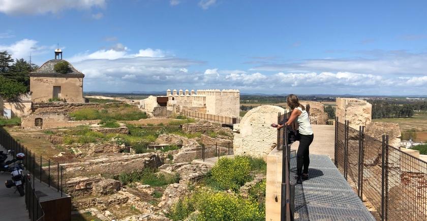 Badajoz Festungsmauer